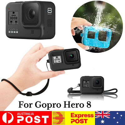 AU8.99 • Buy Protector Case Cover Soft Silicone Carry Cover With Rope For Gopro Hero 8 Camera