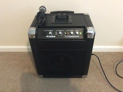 Alesis TransActive Mobile PA System For Ipod • 60£