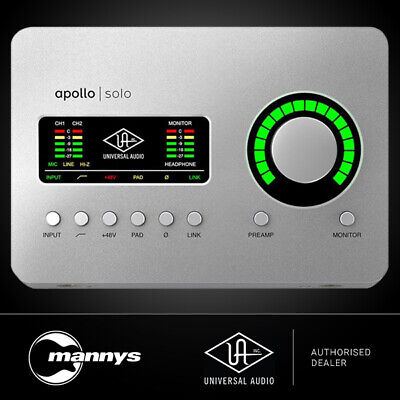 AU853.01 • Buy Universal Audio Apollo Solo USB Audio Interface