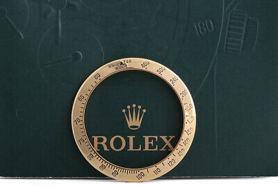 $ CDN1017.36 • Buy Rolex Yellow Gold Daytona Bezel For 116523/8 Weight 9.9g FCD10842