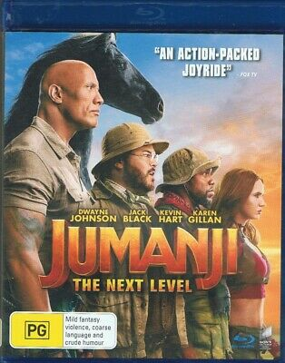 AU6 • Buy Clearance Sale,jumanji,the Next Level,blr,region B,as New