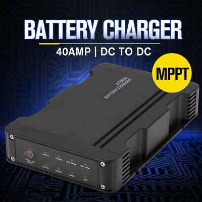 AU199.99 • Buy 12V 40A DC To DC Battery Charger MPPT Dual Battery System Kit Isolator Solar