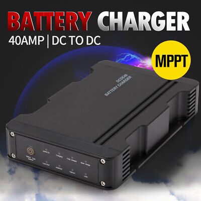 AU199.99 • Buy 40A DC To DC Battery Charger MPPT 12V Dual Battery System ATV 4WD Boat Caravan