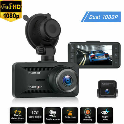 AU66.66 • Buy TOGUARD Dash Cam WiFi GPS Dashboard Camera FHD 1080P LCD Car DVR Recorder AU
