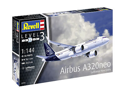 RV03942 - Revell 1:144 - Airbus A320 Neo Lufthansa  New Livery  • 19.99£