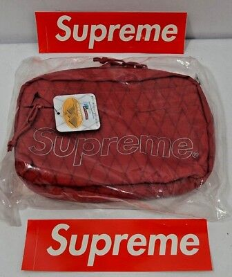 $ CDN234.63 • Buy Supreme New York Shoulder Bag Red FW18 NEW In Hand 100% Authentic