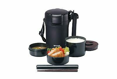 AU115.47 • Buy Tiger Thermos Stainless Lunch Box Vacuum Bento Box, LWU-A172