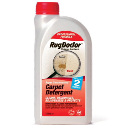 Rug Doctor Carpet Detergent Deodorises And Protects Shampoo Cleaner- 1 Litre • 17.99£