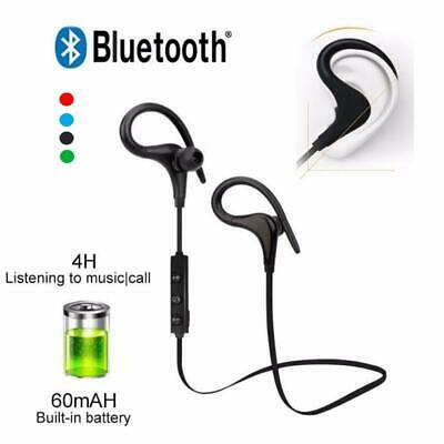 Wireless Bluetooth Earphones Headphones Sport Gym For Samsung & IPhone UK STOCK • 6.99£