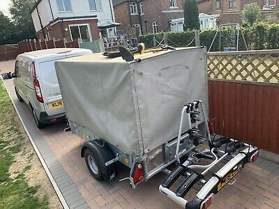 Ifor Williams Camping Trailer P6e Thule 3 Bike Carrier • 1,900£
