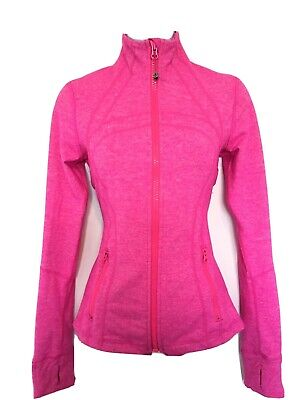$ CDN95 • Buy Free Shipping Lululemon Define Jacket Full Zip Sz 6 Heathered Paris Pink EUC