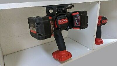 AU39.97 • Buy Milwaukee M18 Tool & Battery Holder Mount Bracket Storage 18v  Drill Impact V2
