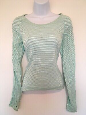 $ CDN52 • Buy Free Shipping Lululemon Running Long Sleeve Shirt Women's Size 6 Mint Blue