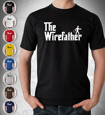 £12.99 • Buy The Wirefather Sparky Electrician Gift T Shirt