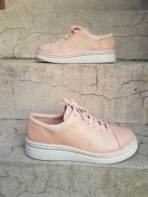 £46 • Buy Camper Runner Up Womens Peach Pink Soft Leather Fashion Trainers Size 39