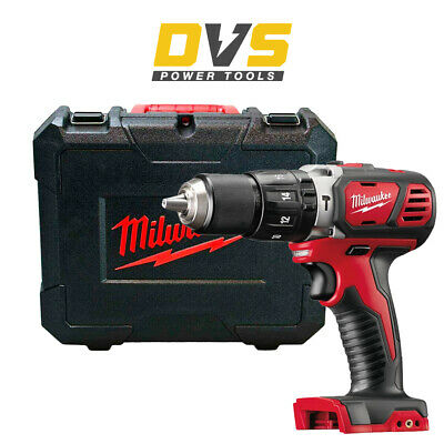 £94.95 • Buy Milwaukee M18BPD-0 18V Li-ion Cordless Compact Combi Percussion Drill With Case