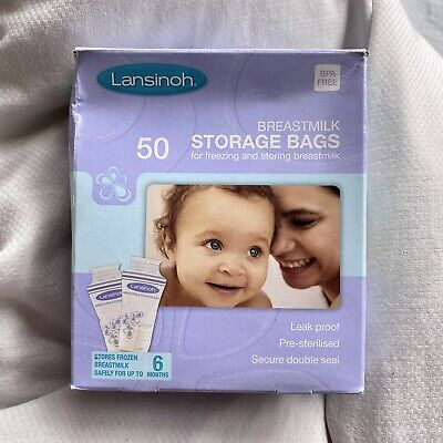 Lansinoh Breastmilk Storage Bags - Pack Of 50 • 8£