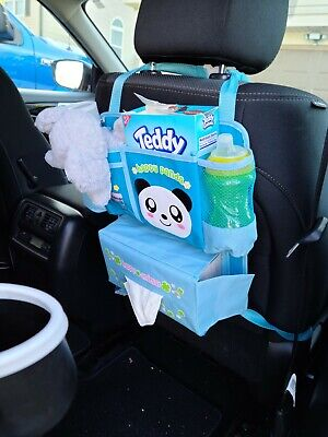 AU14.73 • Buy Car Back Seat Organizer For Kids - Baby Accessories, Kids Small Toys & Travel