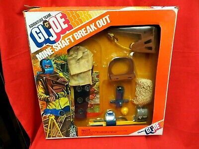 $ CDN1349.50 • Buy 1964 Vintage Gi Joe Joezeta :   1975 Adventure Team :  Mine Shaft Break Out Mib