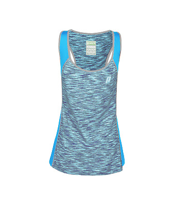 Prince Girls Space Dye Racer Vest Top In Azure • 13.99£