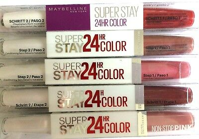 £2.95 • Buy MAYBELLINE  Superstay Color NEW Choose Your Colour Shade 24hr USE DROP MENU
