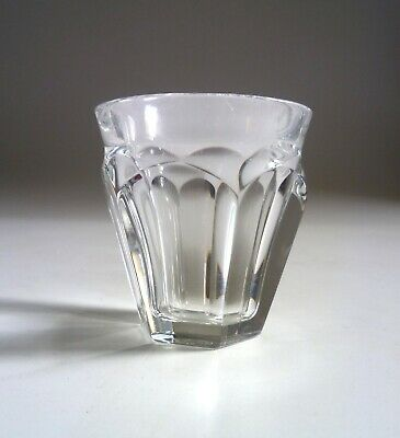 BACCARAT Crystal Vintage Harcourt - Talleyrand SMALL GLASS. 5.8cm, 2 1/4  • 35£
