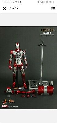 $ CDN410.37 • Buy Iron Man 2 Mark V 5 Hot Toys 1/6 Action