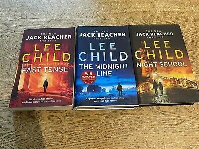 Jack Reacher Series - 3 Books By Lee Child - Books In Order 21-23 • 11.95£