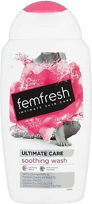 Femfresh Intimate Hygiene - Ultimate Care Soothing Wash, 250ml • 4.99£