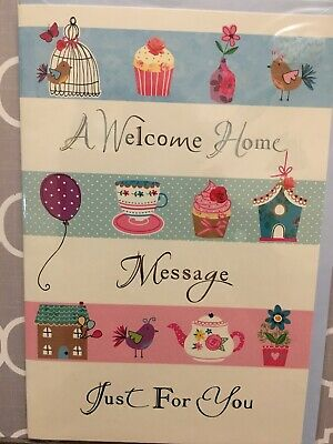 Welcome Home Card . High Quality. Brand New In Packaging. • 0.99£