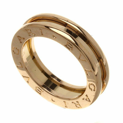 AU1200 • Buy Bvlgari B Zero Pink Gold Ring 18ct