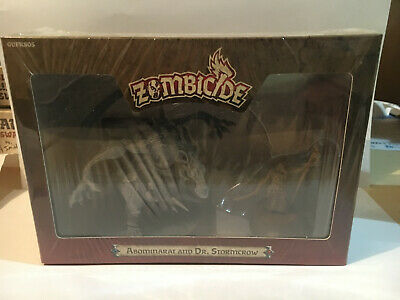 AU89.95 • Buy Zombicide, Abominarat And Dr Stormcrow Promo Box. Still Sealed.