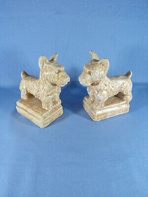 Price Brothers Pair Of Scottie Dogs Book Ends  • 27£