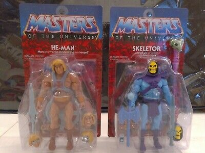 $195 • Buy He-Man Skeletor Masters Of The Universe Ultimates New And Rare