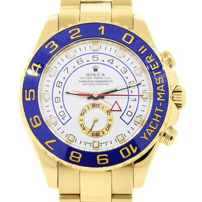 AU69678.11 • Buy Rolex Yacht-Master II 116688 Men's Yellow Gold 44mm Automatic 1 Year Warranty