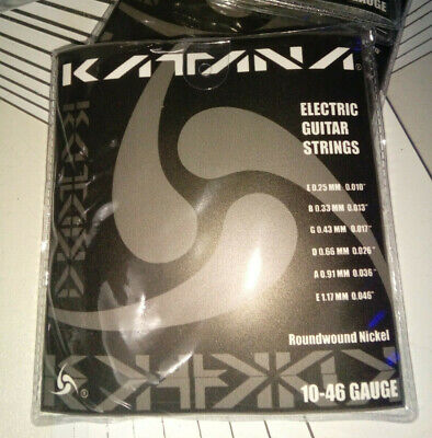 $ CDN6.58 • Buy Katana Electric Guitar Strings 10-46