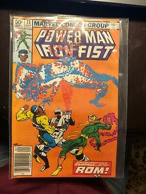 Power Man And Iron Fist #73 1981 Excellent Condition!!  Kept In Plastic Bag • 11.67£