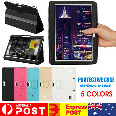 AU11.66 • Buy Universal Shockproof PU Flip Stand Case Cover For 10.1 Inch Android Tablet PC