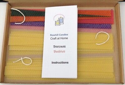£13.99 • Buy Beeswax Candle Making Kit - Beehive: Colours Random (See Item Description)