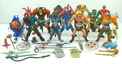 $350 • Buy MOTU, Figures Lot, 200x, He-Man Set, Complete, Masters Of The Universe Weapons