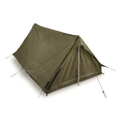 $79.99 • Buy Genuine French Military Surplus F1 2 Person Combat Field Pup Tent Shelter - NEW!