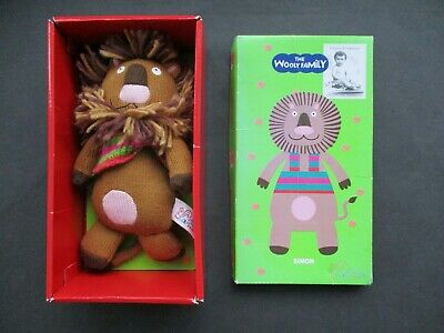 Latitude Enfant Simon The Lion Grannimals In Box The Wooly Family • 5£