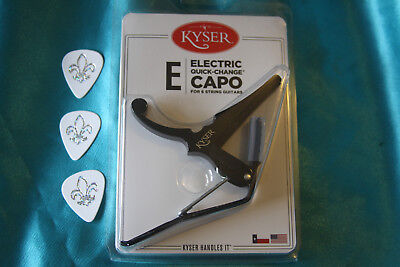 $ CDN26.60 • Buy Kyser Electric Guitar Capo, Black, KGEB