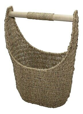 Seagrass Wicker Toilet Roll Holder Storage Basket Large Small  • 29.95£