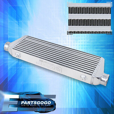 $73.99 • Buy Polished Universal Intercooler For Turbocharger / Supercharger (27.5 X7 X2.5 )