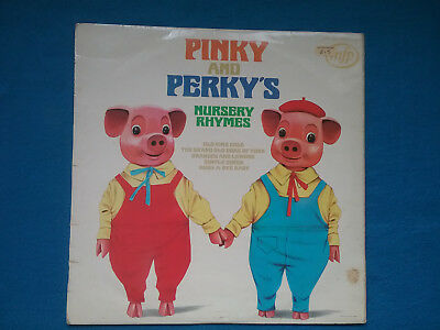Vinyl Lp -pinky And Perky - Pinky And Perky's Nursery Rhymes  (1970) Mfp1413 • 6.99£