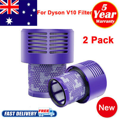 AU24.99 • Buy 2 X FOR DYSON Vacuum Filter For All V10 Series Cyclone Absolute Animal SV12 PACK
