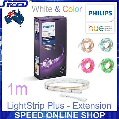 AU79 • Buy PHILIPS Hue Lightstrip Plus - White And Color Ambiance - 1 Meter - Extension -1M