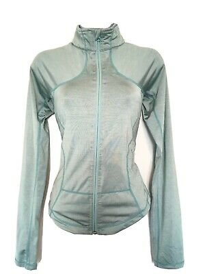 $ CDN50 • Buy Free Shipping Lululemon Shape Jacket Ice Blue Aqua Sz 6 EUC Full Zip