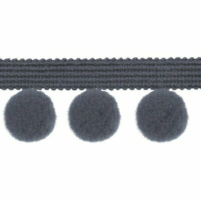 Finest Quality Pom Pom Trim Trimming Sewing Craft 2cm XL Bobble Fringe 20mm  • 1.49£